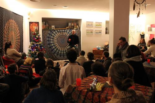 Festa di Natale con Andrea Panatta