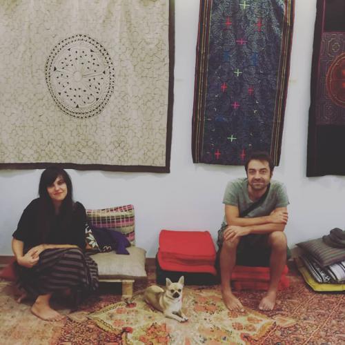 Sara Surti e Alessandro Pandolfi