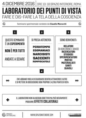 Claudio Marucchi - Laboratorio dei punti di vista