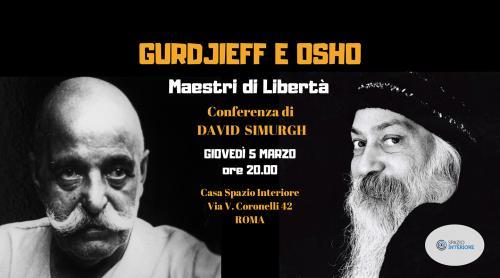 David Simurgh, Gurdjieff e Osho