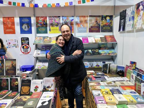 Elisa con Paolo Crimaldi