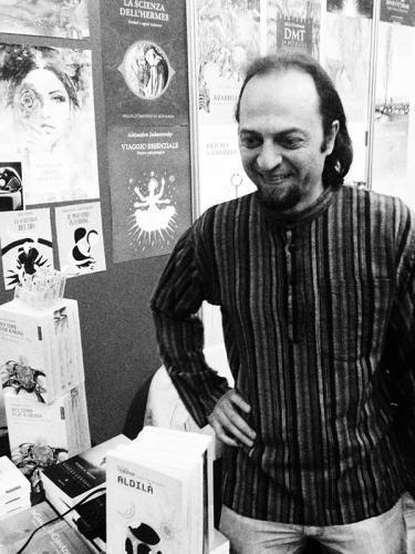 Claudio Marucchi al salone del libro di Torino, 2016