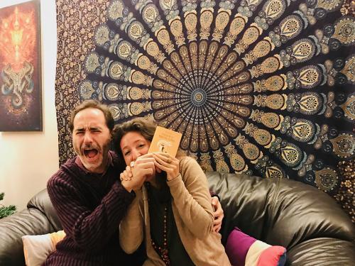 """L'editore con Dafna Moscati, autrice di """"Perché mi ha morso una scimmia"""""""