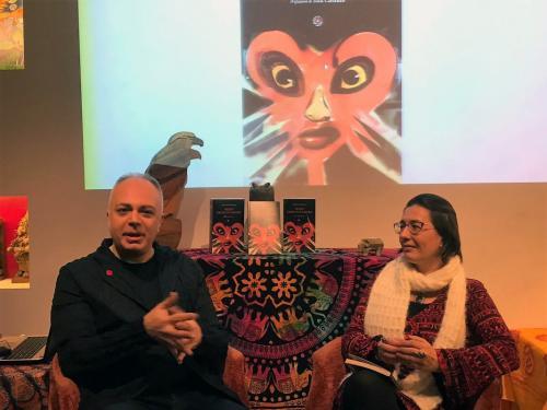 Paolo Crimaldi presenta -Sesso eroico furore- a Casa Spazio Interiore, 2020