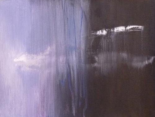 Dimensioni parallele 2014 acrilico su carta cm 34x26