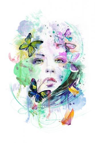 Donne farfalla